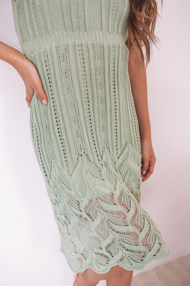 Castaway Dress - Sage