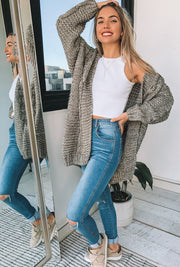 Banjo Cardigan - Grey Multi