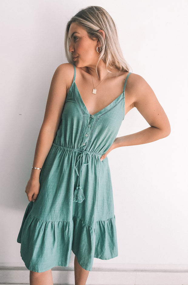 Chancery Dress - Teal