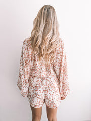 Fortitude Playsuit - Cream Floral