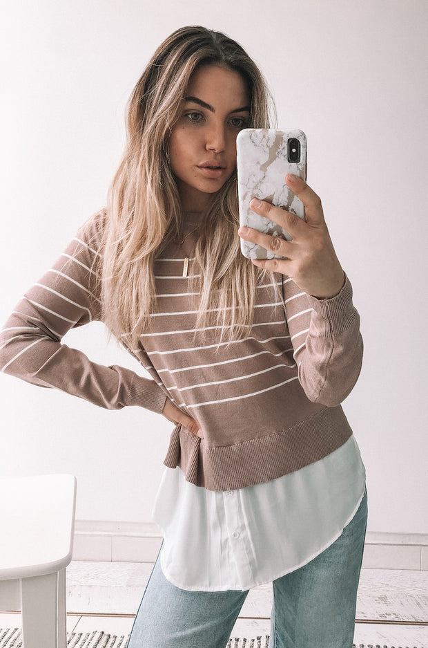 Libby Top - Pink
