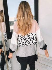 Starburst Cardigan - Blush Print