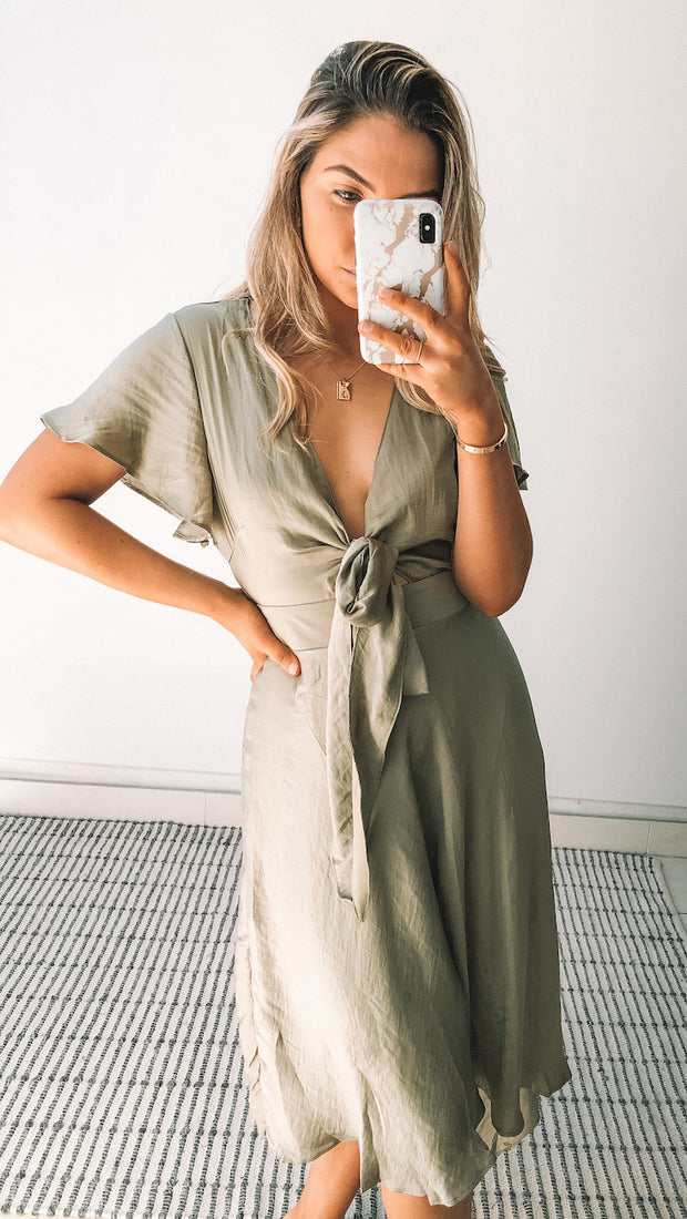 Bryla Dress - Sage