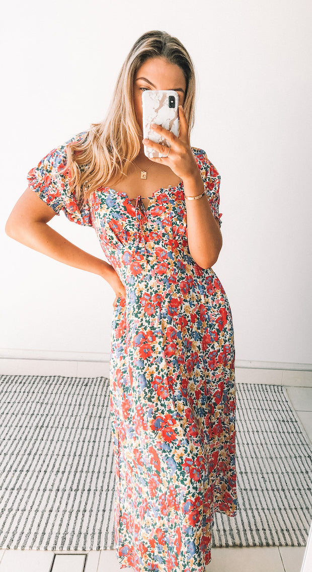 Misha Dress - Floral Print