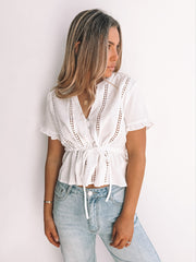 Malina Top - White