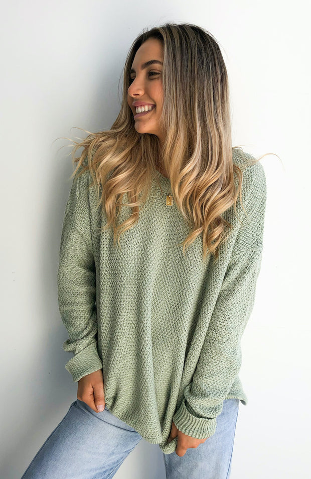 Mandy Jumper - Sage