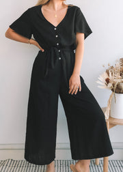 Tommy Jumpsuit - Black