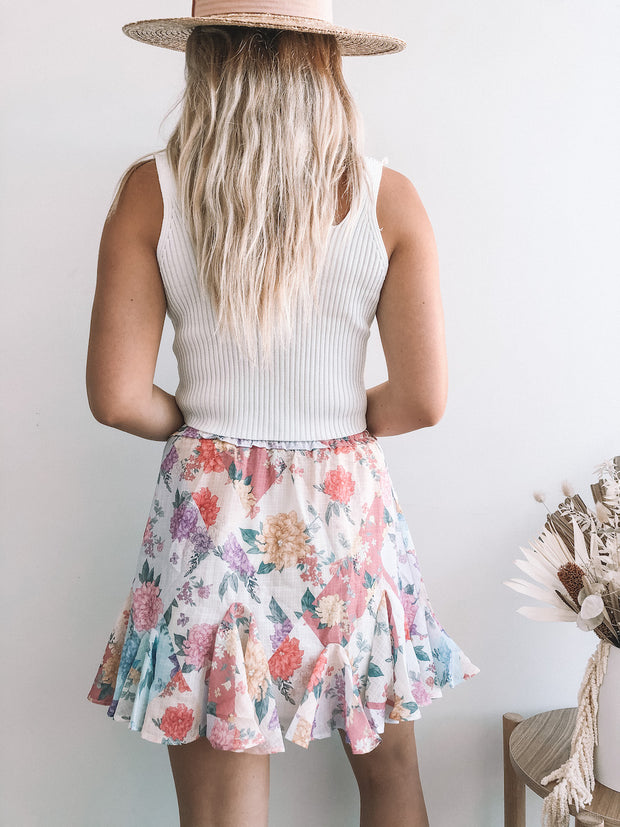Andrea Skirt - Floral Print