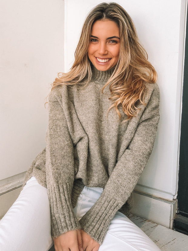Tay Jumper - Taupe