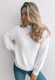 Ozark Knit - White
