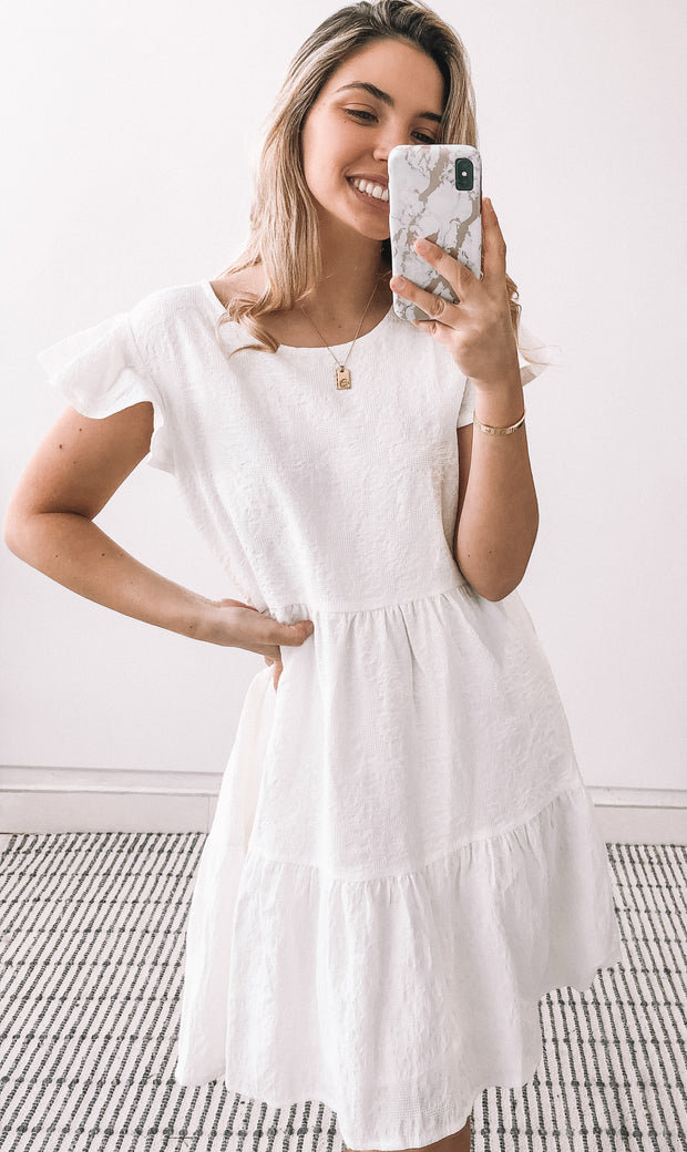 Balandra Dress - White
