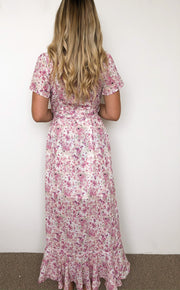 Emery Dress - Pink Floral