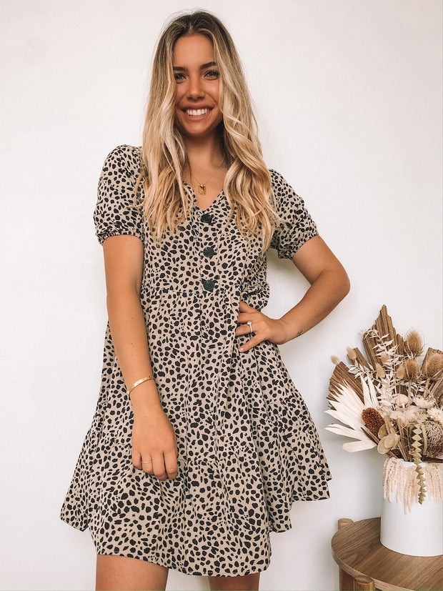 Listless Dress - Animal Print