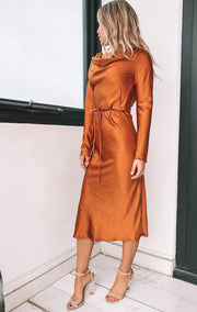 Montecarlo Dress - Rust
