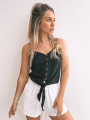 Lulled Top - Black