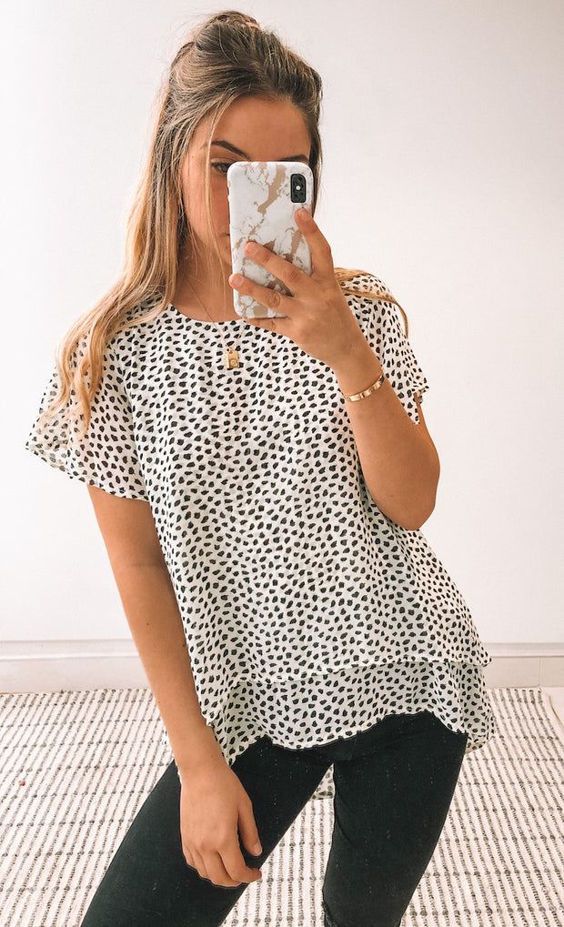 Minnie Top - Print
