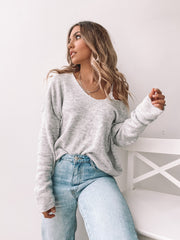 Frosty Knit - Grey