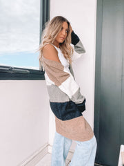 Collegiate Cardigan - Multi