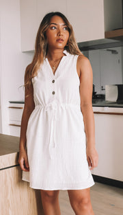 Billy Dress - White