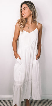 Charley Dress - White