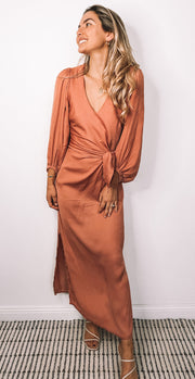 Heather Dress - Terracotta