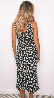 Spaniol Dress - Black Print