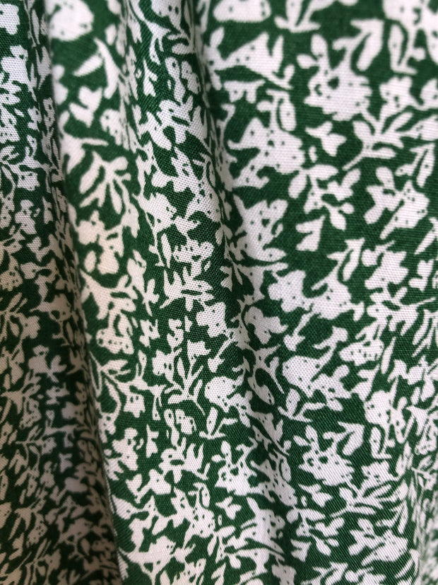 Cherish Dress - Green Print