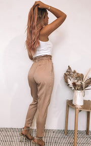 Annalise Trousers - Camel