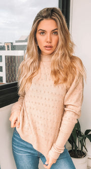 Whiteweaver Knit - Blush