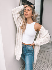 Banjo Cardigan - Cream