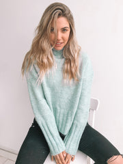 Chesterfield Jumper - Mint