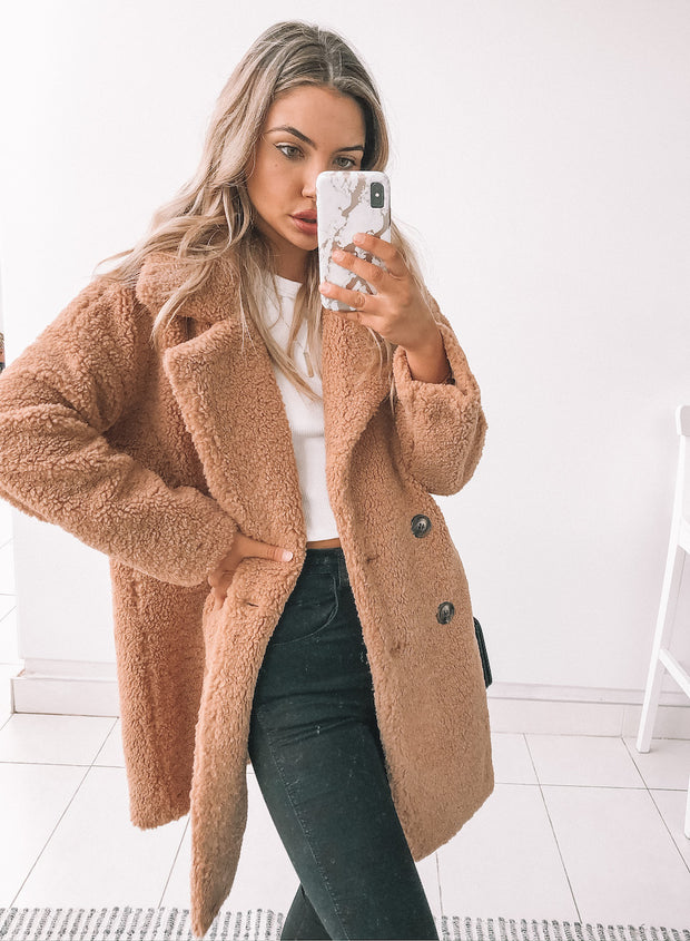 Kodiak Coat - Camel