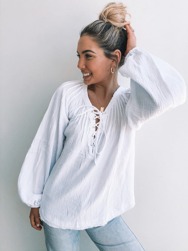 Sailes Blouse - White
