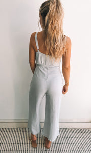 Saffara Jumpsuit - Ice Blue