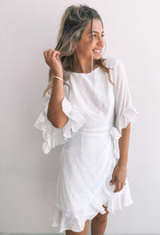 Query Dress - White