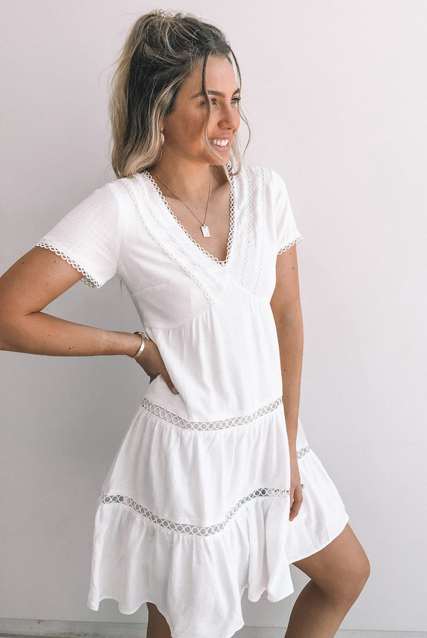 Goodwin Dress - White