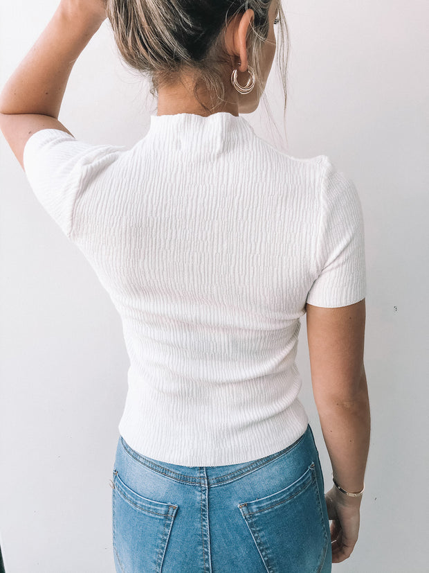 Karma Top - White