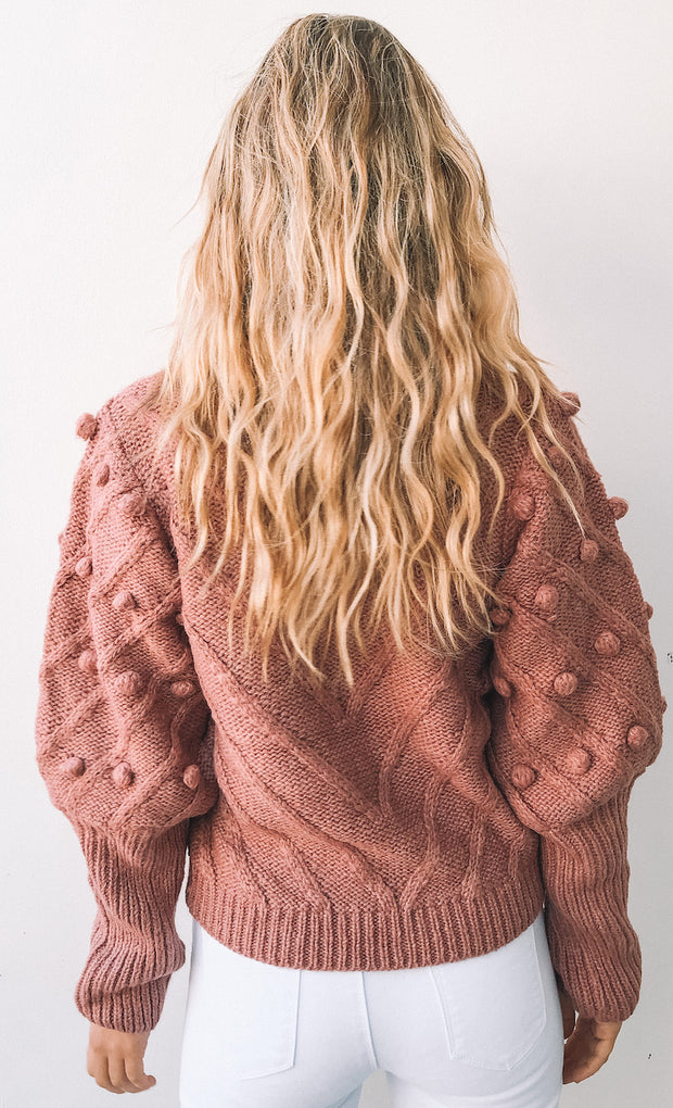 Dauphine Knit - Rose Pink
