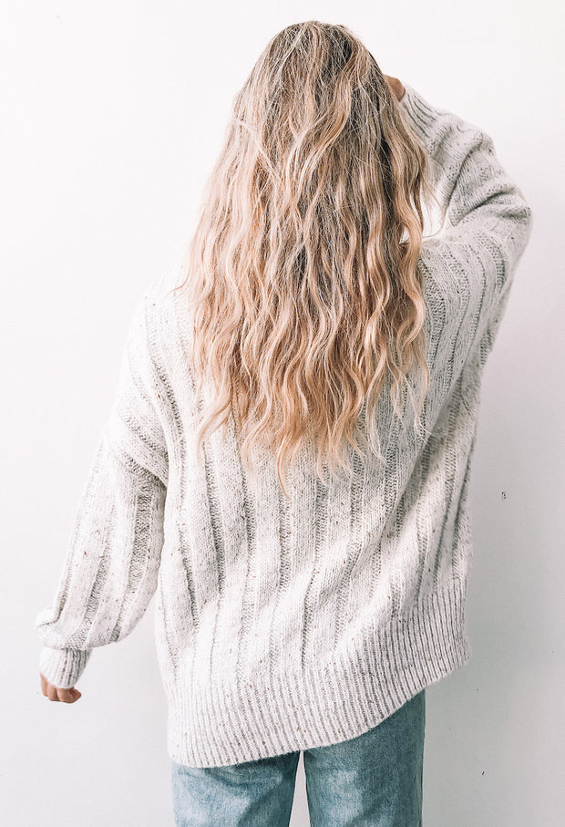 Graced Knit - Light Beige