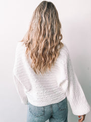 Noted Knit - White