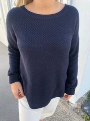 Mandy Jumper - Navy