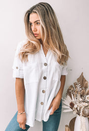 Cottonfield Top - White
