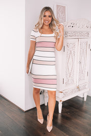 Andreja Dress - Stripe