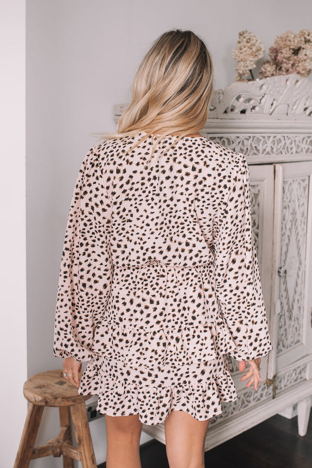 Labyrinth Dress - Leopard Print