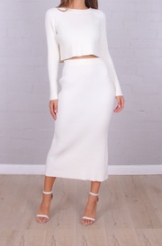 Margo Skirt - White