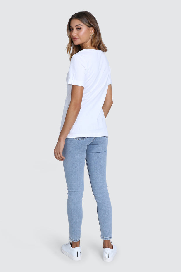 St Tropez Top - White
