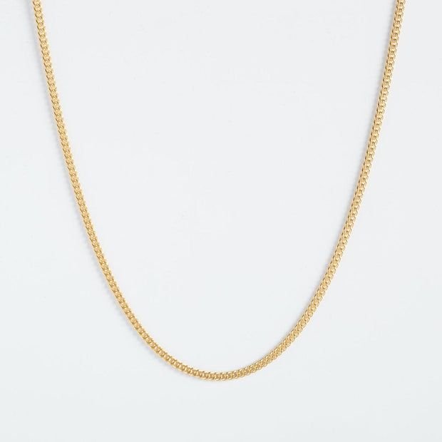 Taped Necklace - Gold Plated