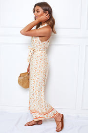 Butter Jumpsuit - Cream Print