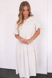 Trifle Dress - Beige