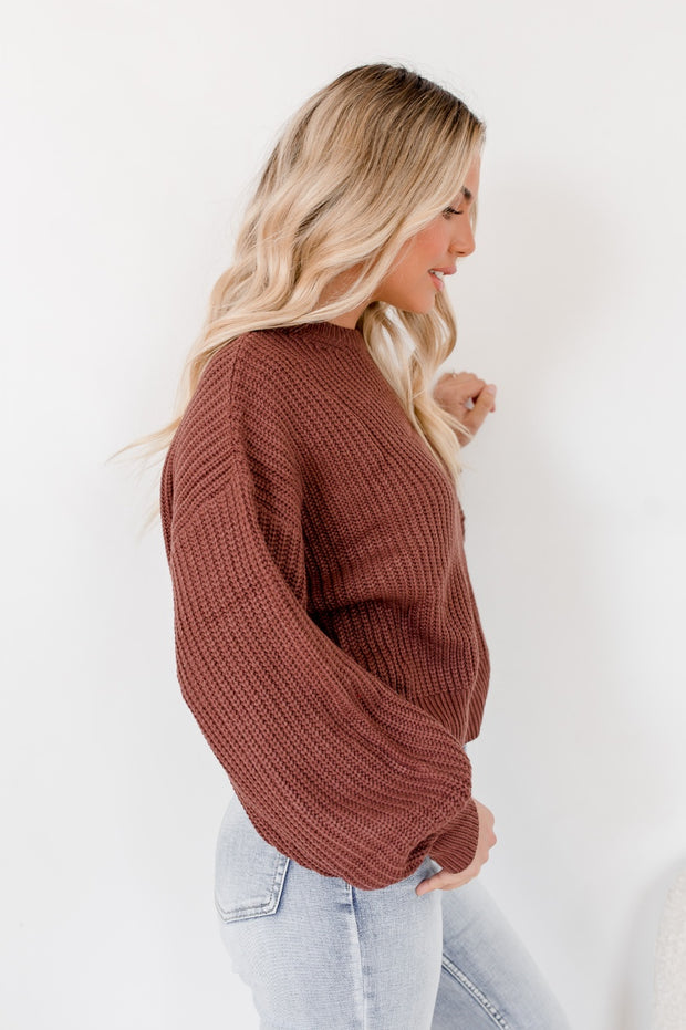 Vespera Knit - Chocolate